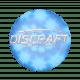 Discraft Mini Star Blue Spiral